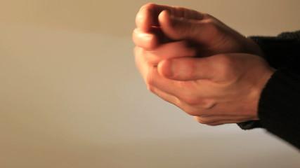 Hands sanitizing. Find similar clips in our portfolio.