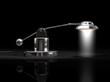 Tischlampe Metall O