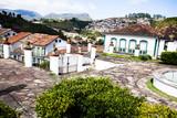 Fototapeta View of  city  Ouro Preto in Minas Gerais Brazil
