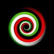 Logo vettoriale vortice italiano