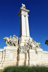 Monumento a las Cortes, Constitución de Cádiz