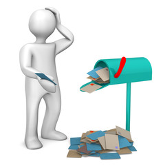 Overcrowded Mailbox
