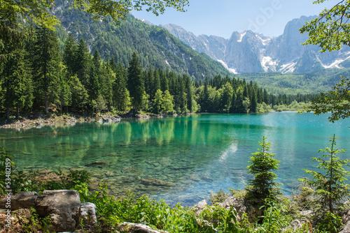In de dag Alpen Laghi di Fusine 01