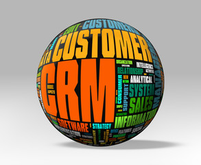 CRM  - Clipping path included