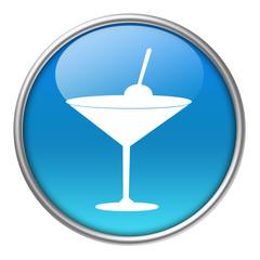 Bottone vetro aperitivo
