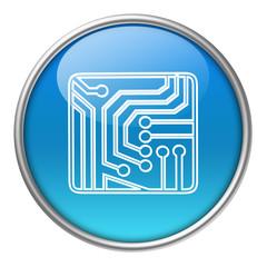 Bottone vetro circuito stampato