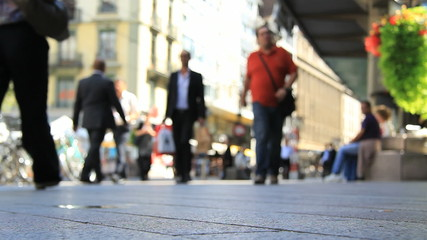 Pedestrians in a shopping street. Find similar in our portfolio.