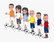 soccer cartoon people
