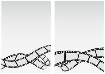 film reel business background