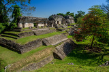 Palenque : plate-forme nord 3 temples 1