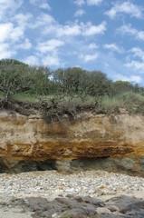 Felsformation an der Atlantikküste in Frankreich 4