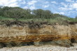 Felsformation an der Atlantikküste in Frankreich 1