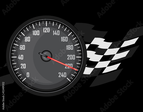 Speedometer. Icon for design