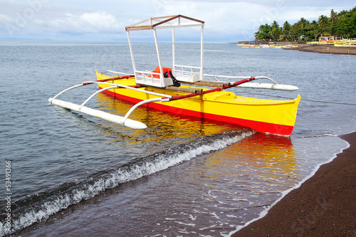 Bangka at island, Philippines