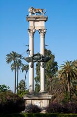 Monumento a Colón, Jardines de Murillo, Sevilla (España)