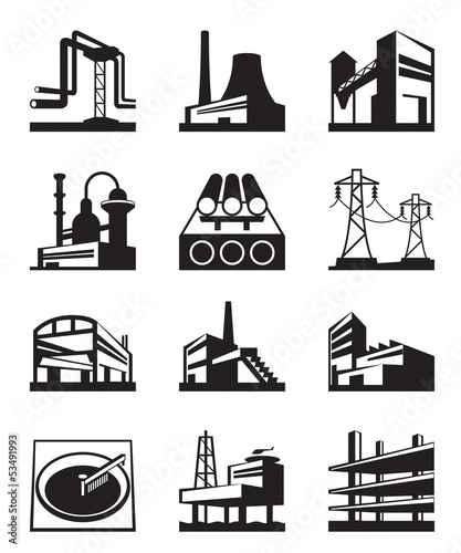 Different types of industrial construction