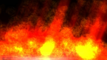 Animation of a Hell Fire