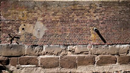 Hintergrund *** alte Wand, Mauerwerk