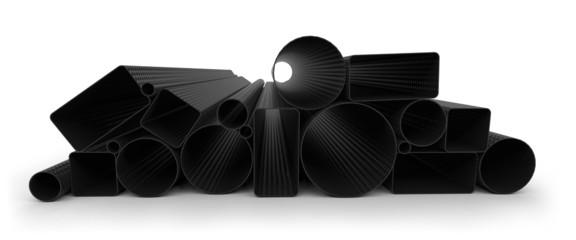 Carbon fiber tubes