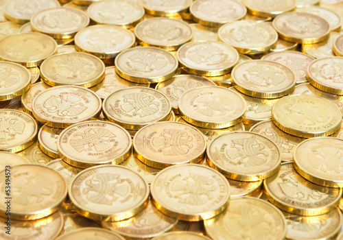 Coins background.