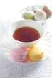 french confectionery, Macaron and English tea