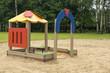 Children playground in the park