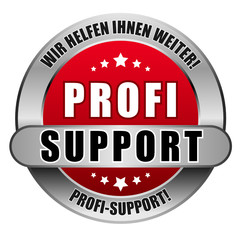 5 Star Button rot PROFI SUPPORT WHIW PS