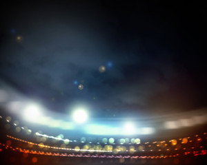 Lights of stadium
