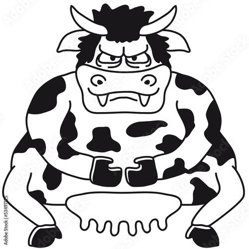 Big Sumo Cow