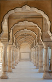 Arch passsage at Amber Fort, Jaipur, India