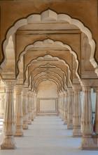 Passsage arc au Fort d'Amber, Jaipur, Inde
