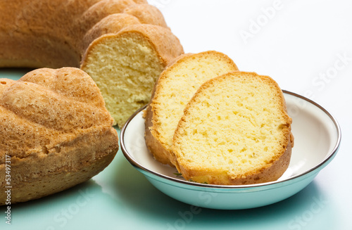 Pound Cake Slices