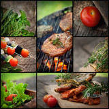 Barbecue  BBQ collage