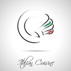 Italian cuisine_logo