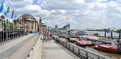 Hamburger Hafenpromenade