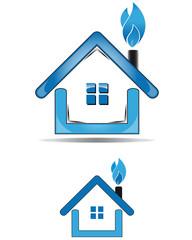 Utility house methane