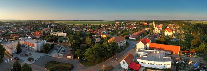 Village Panorama - Cifer in Slovakia