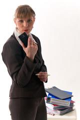 Geschäftsfrau, Sekretärin