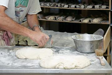 boulangerie - travail de la pate à pain  # 26