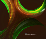 Colorful swirl abstract background