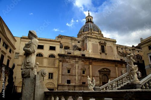 Palermo,piazza della vergogna