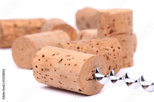 Wine corks and cokcrew