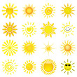 16 verschiedene Sonnen