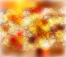 Sunny soft flare  blurred bokeh background abstract