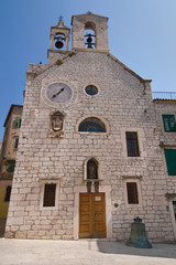 Church of St Barbara in Sibenik
