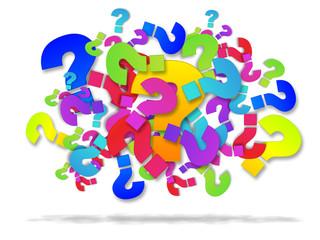 Punti interrogativi, domande che attendono risposte