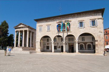 Historical center of Pula