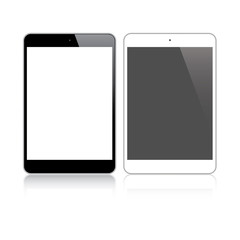 Highly detailed responsive small tablet vector