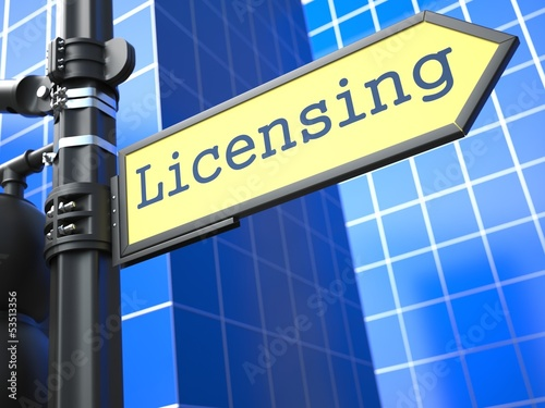 Licensing Concept.