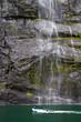 Fototapeten,wasserfall,norge,fjord,fjord